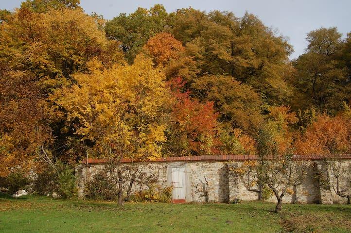 Studio à Chevreuse dans un parc historique