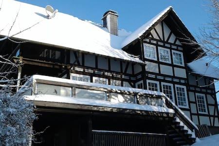 Fachwerkhaus am Rothaarsteig - Hilchenbach - Rumah