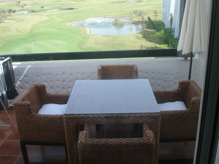 Golf & sea view appartement in asilah marina golf