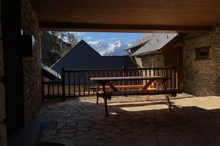 Un balcón al pirineo, calma y naturaleza. - Vilamòs - Casa