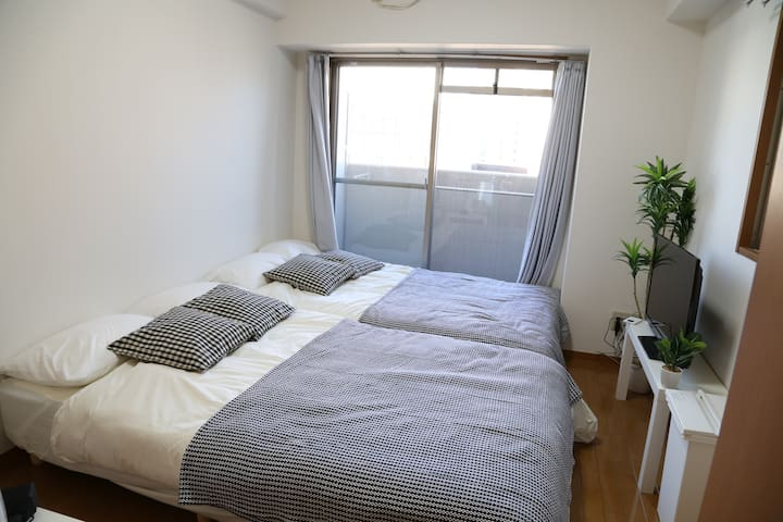 Great Location!!Next to OCAT Namba Sta+WIFI 2-4ppl - Naniwa-ku, Ōsaka-shi