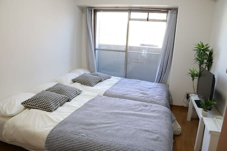 Great Location!!Next to OCAT Namba Sta+WIFI 2-4ppl - Naniwa-ku, Ōsaka-shi - Apartmen