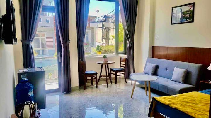 T301.Beside River*Large Balcony*Sofa Bed,G.Kitchen