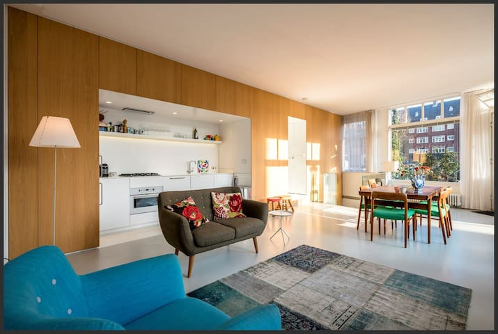 Spacious apartment on crossing of two canals - 阿姆斯特丹 - 公寓