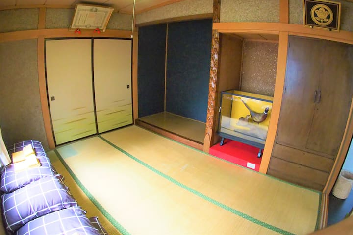 1st Bed room 2 double futon(1F)