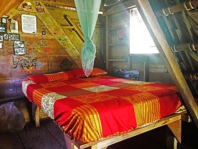 Murcielego Hut. Zopilote permaculture farm/hostel