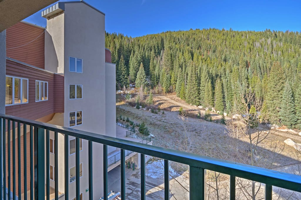 Spend your next mountain getaway at this vacation rental condo in Winter Park!