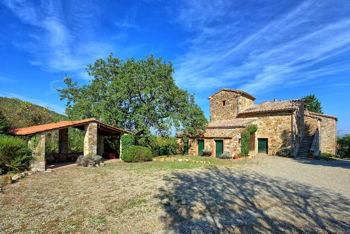 Villa Palazzone - Country House with swimming pool in Orcia Valley, Tuscany