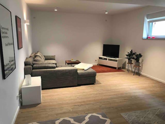 Eigenes Studio in Mehrfamilienhaus