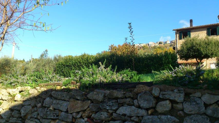 Casetta nel borgo delle menicaglie - Civitella del Lago - Casa