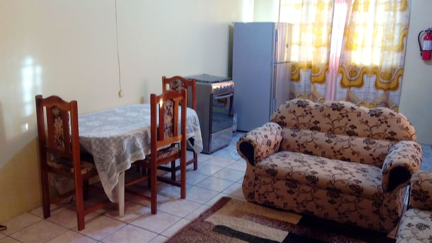 Khanla company 2 bedroom apartment - Chaguanas