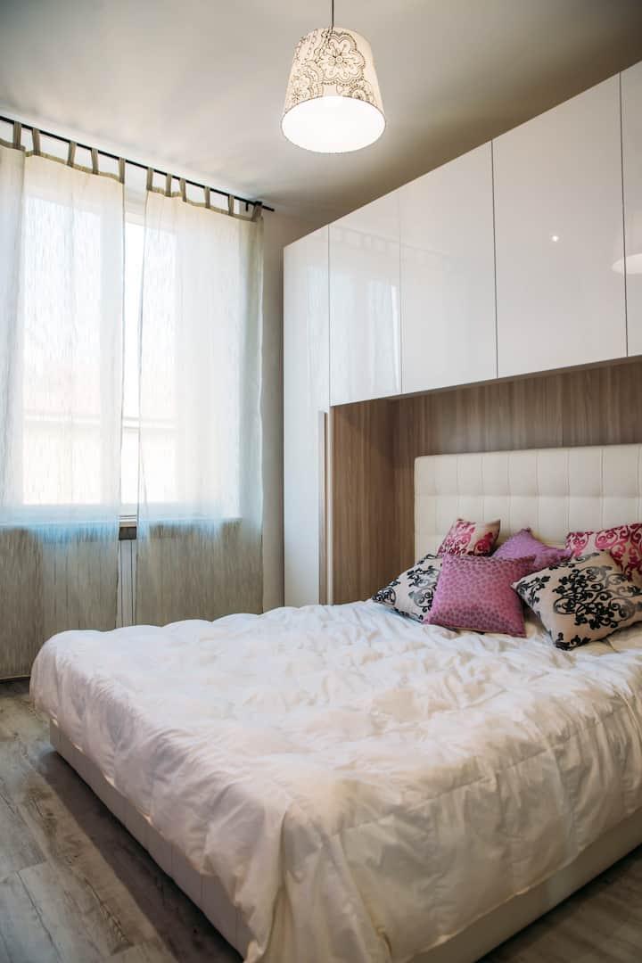 Cozy apartment in Vanchiglietta