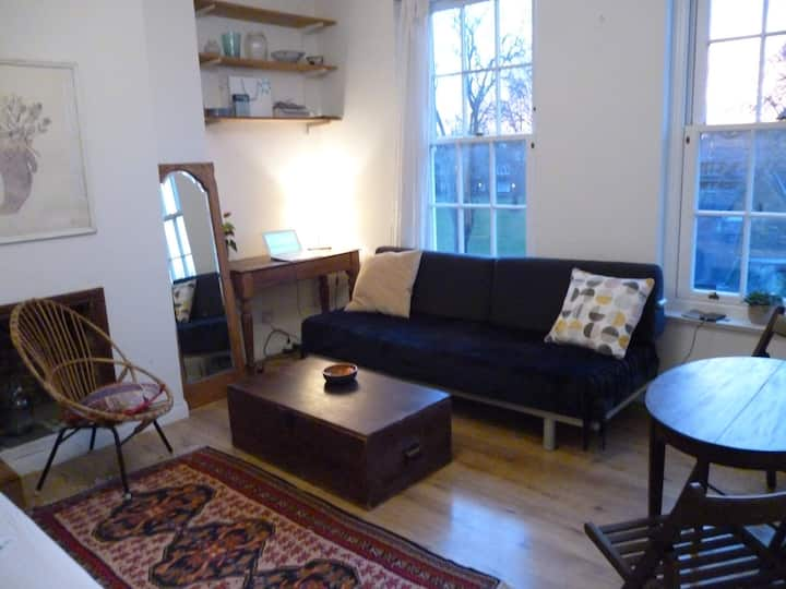 Peaceful garden view apartment in central Brixton