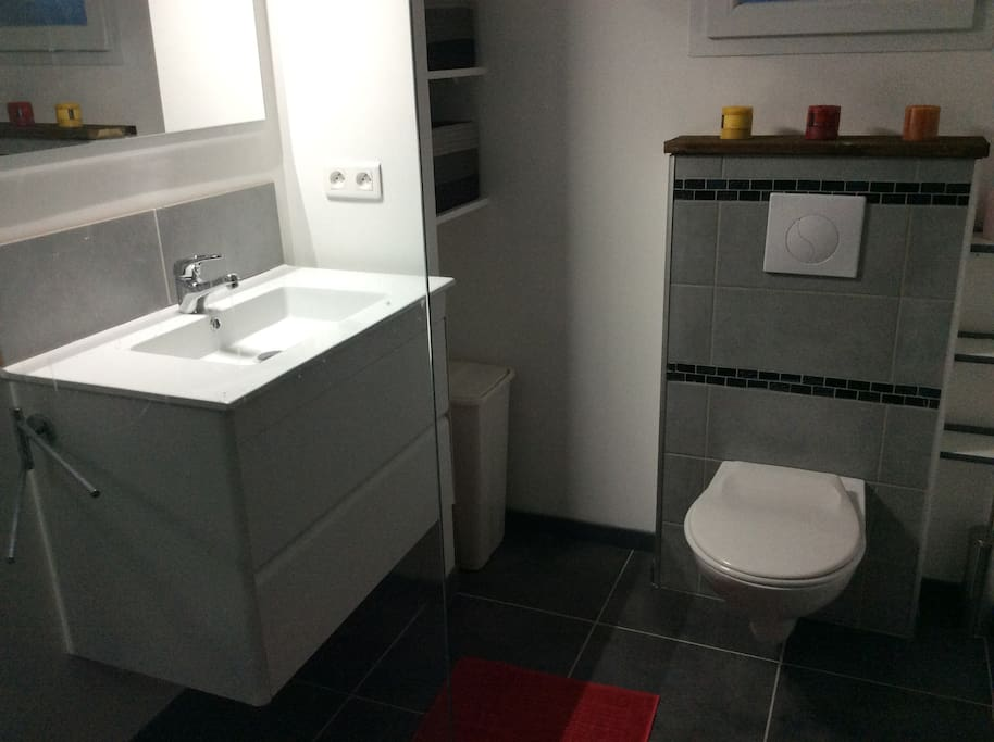 Une des salle d'eau