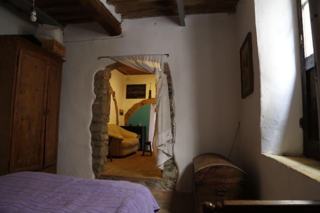 camera da letto e sala