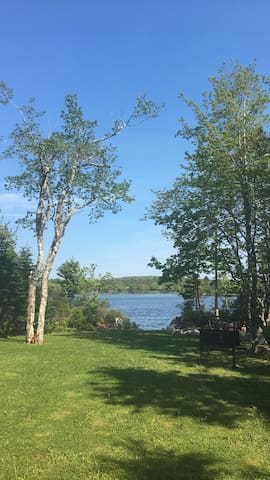 2 bedrooms available at log house on Moody Lake.