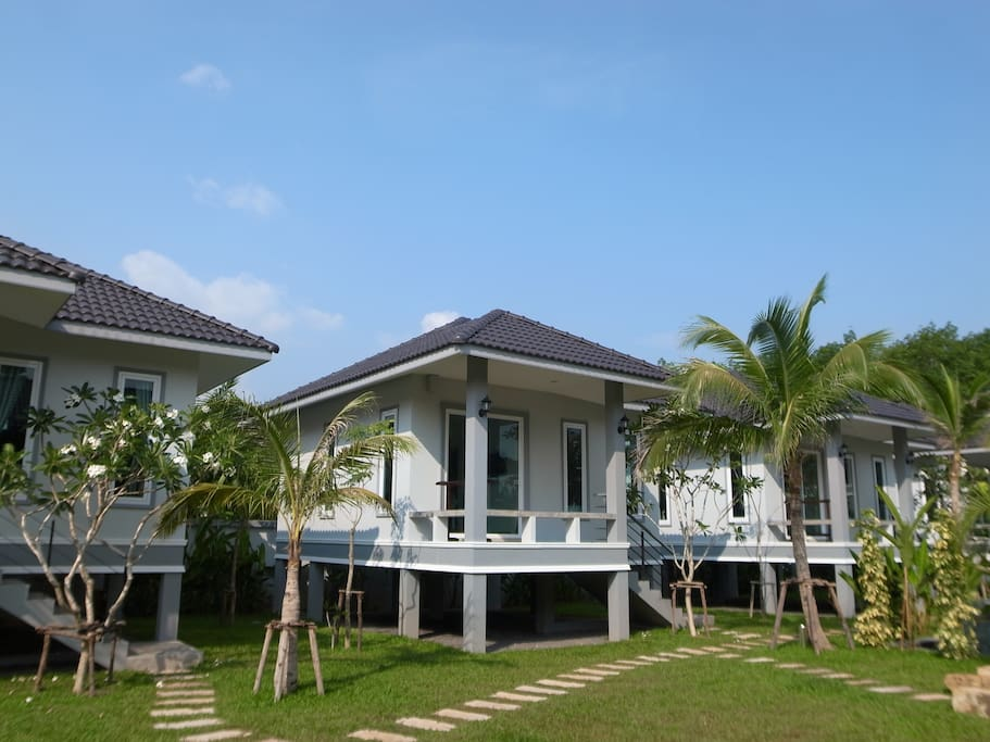 Ylangylang bungalow is one of five private villas in our garden.