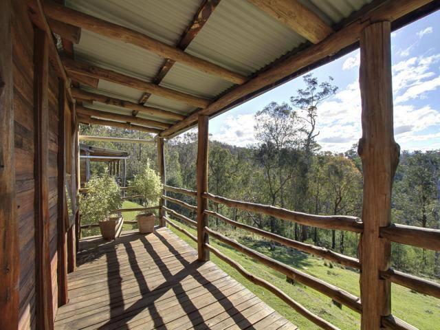 Beautiful verandas to enjoy views of the mountains