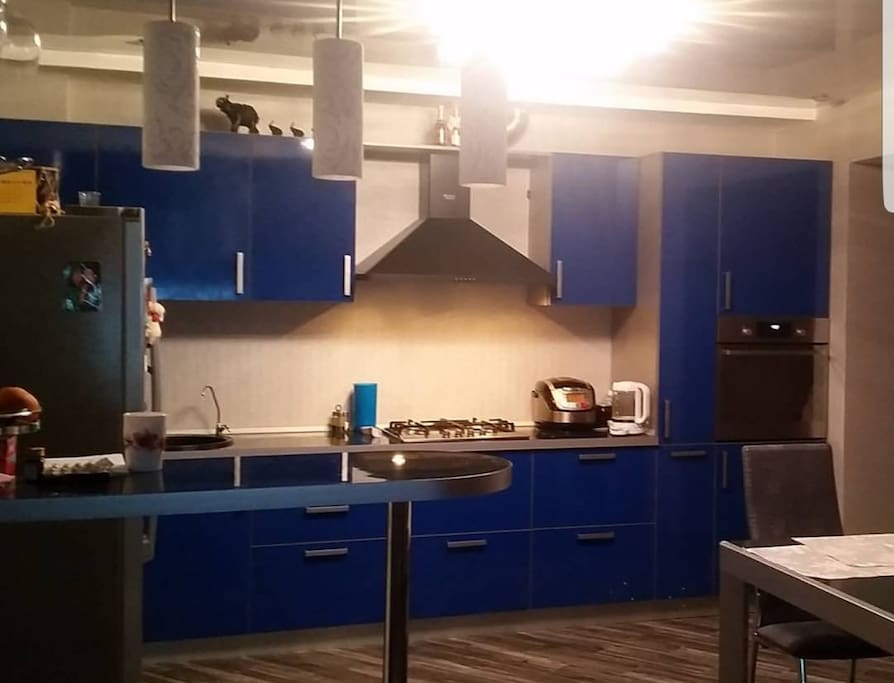 кухня гостинная