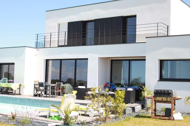 Maison avec vue sur le Golfe du Morbihan et Vannes - Saint-Nolff - Dom