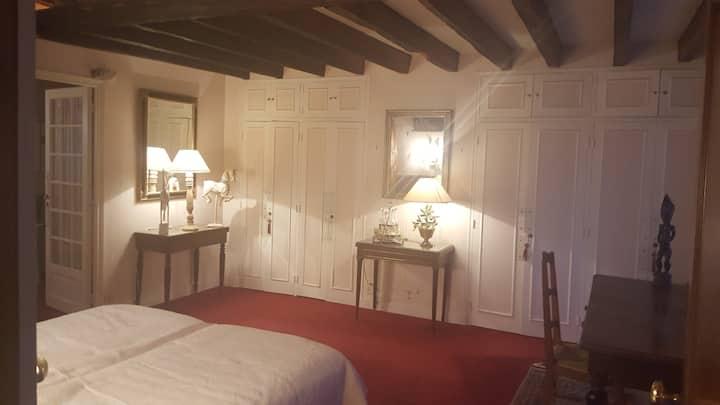 Gde chambre parentale proche Châteaux de la Loire.