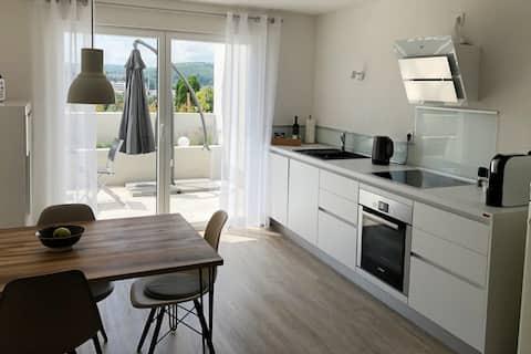 Top appartement in de buurt van Basel, het Zwarte Woud en Frankrijk