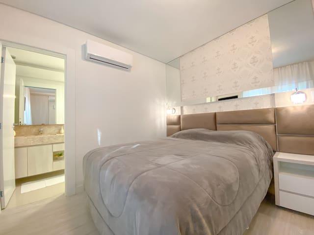 Suite cama tamanho Queen Size