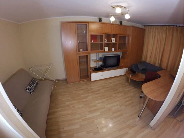 """Tolstoy"" Apartment 5 min to train station"