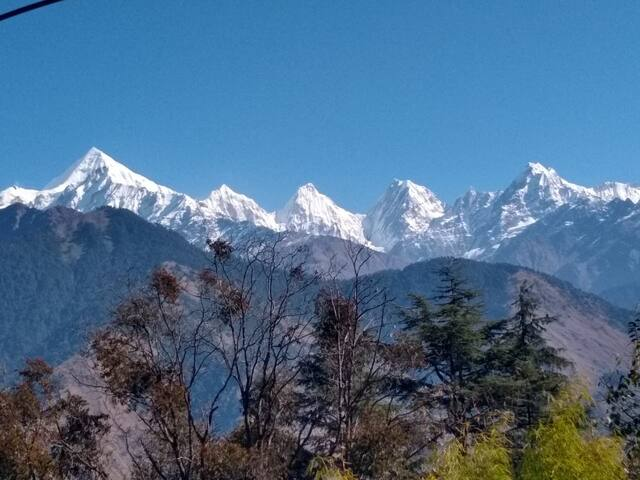 Homestay Munsyari With Panchachuli View