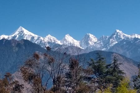 Homestay In Munsyari | With Panchachuli View