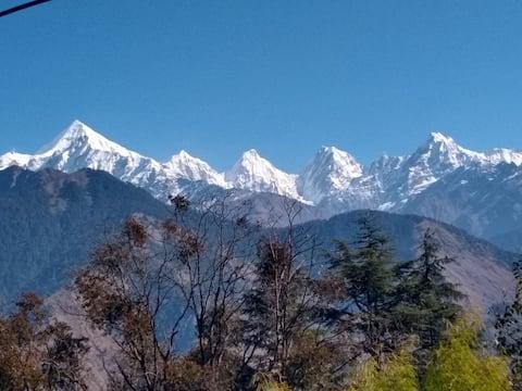 Homestay In Munsyari | With Panchachuli View