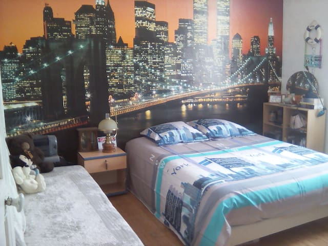 chambre spacieuse tout confort