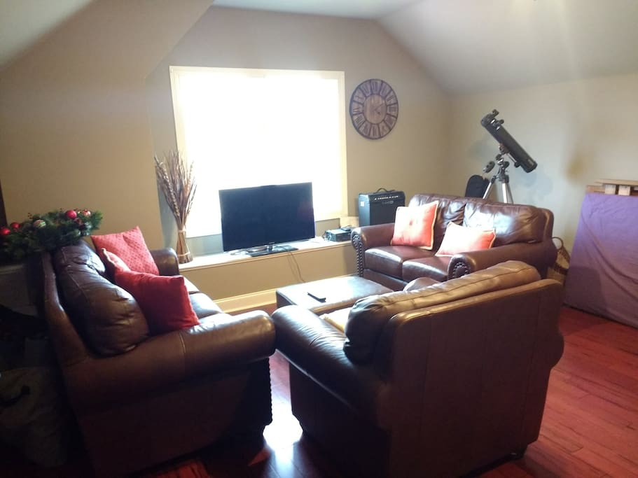 Family room for guest use