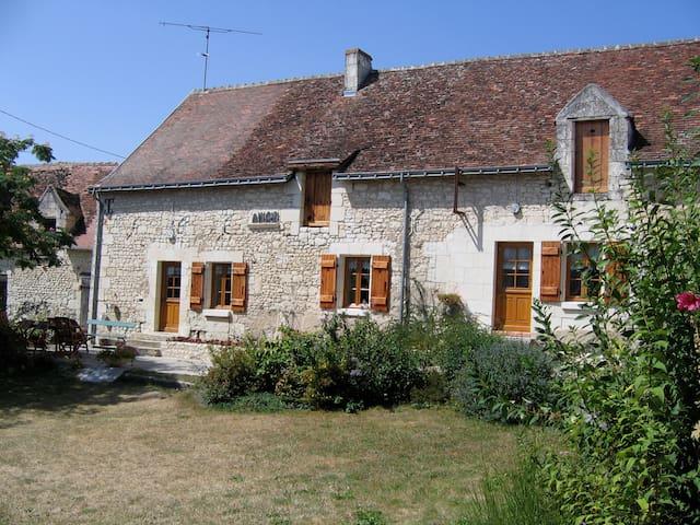 Maison de charme en Touraine, à la campagne