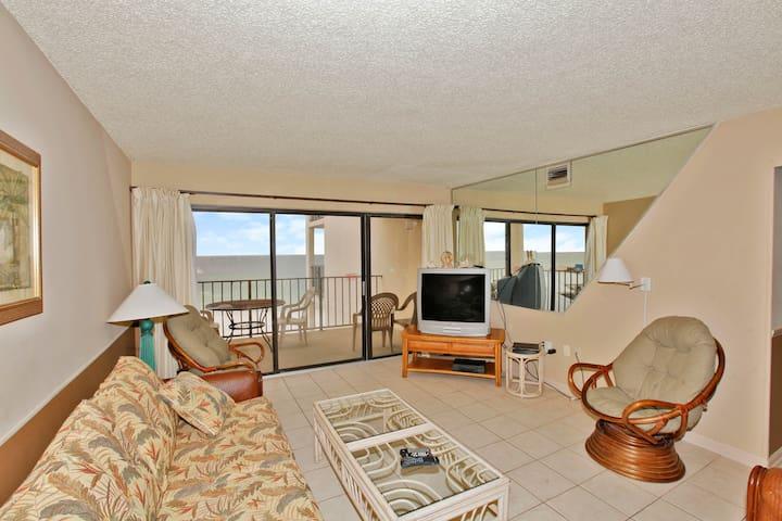 Moondrifter 706 - Direct Gulf Front - Panama City - Apartment