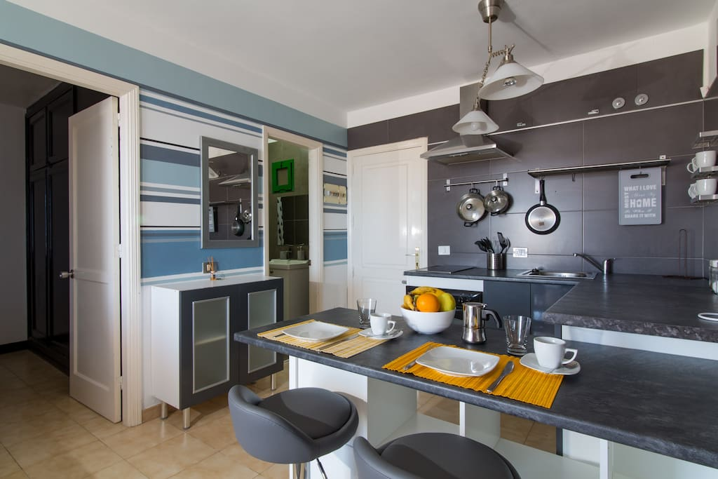 Kitchenette with all the necessary!