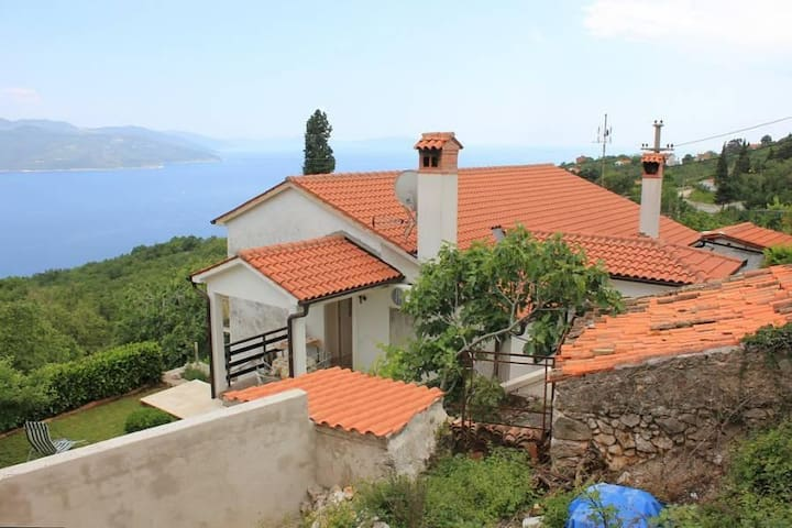One bedroom house with terrace and sea view Zagore, Opatija (K-7921) - Zagore - Other