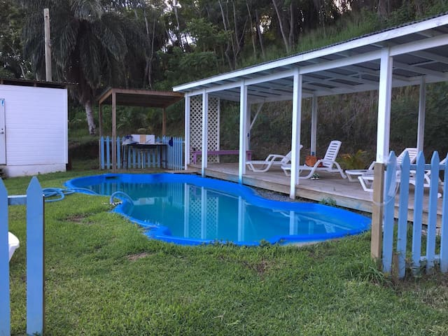 Private House in Village Pool BBQ Next to Hospital