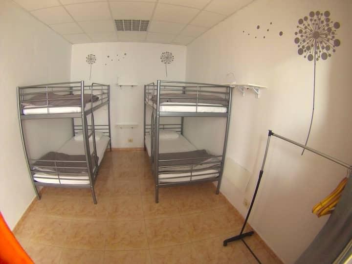Canary Sun Hostel- Habitación compartida masculina