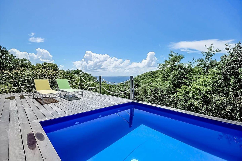 Villa Paradise à Marie-Galante et sa superbe vue mer