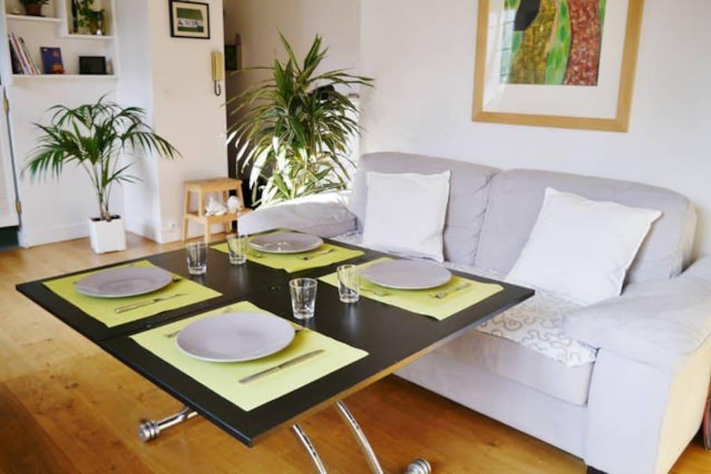 Duplex cosy et atypique de 50 m2 appartements louer for Duplex appartement atypique