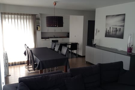 modern apartment near westcoast & plopsaland - Veurne - Apartament