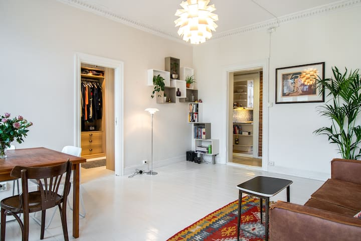 Charming and classic apartment at St. Hanshaugen - Oslo