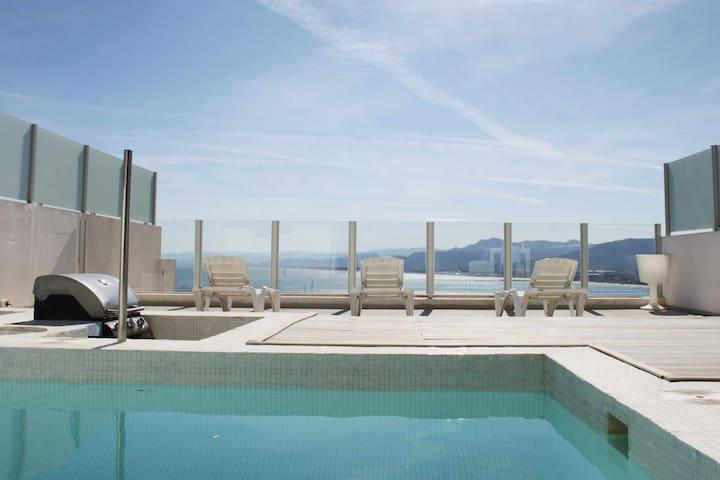 C34 | Apartamento privado con piscina y vistas panorámicas