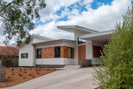 The Passive House - Ainslie, Canberra. - Ainslie