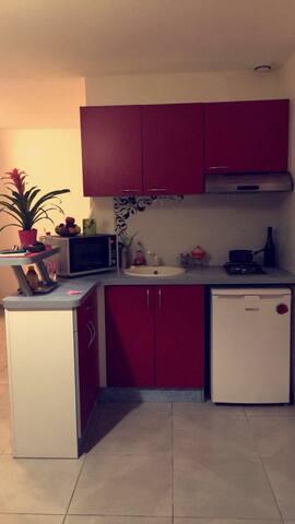 Studio en périphérie de Besançon - Pirey - Apartment