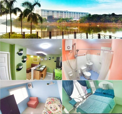 Fully furnished 2BR Condo Unit beside Iloilo river