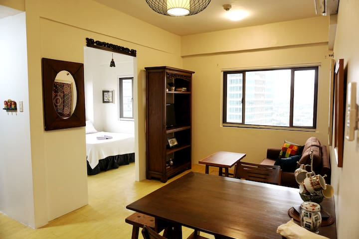 Cozy Studio in Eastwood City with Parking - Ciutat Quezon