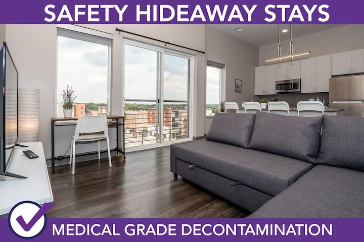 Safety Hideaway - Medical Grade Clean Home 4