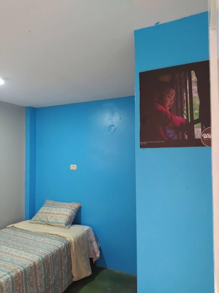 Habitación individual en Casa Hospedaje Warma